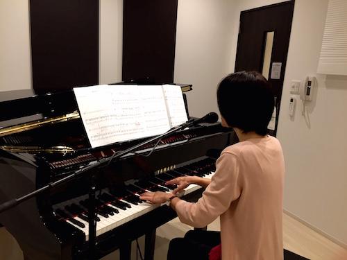 ピアノ弾き語り練習 堀紀久美